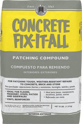 Custom Building Products Concrete Fix-It-All Patching Compound - 25lbs