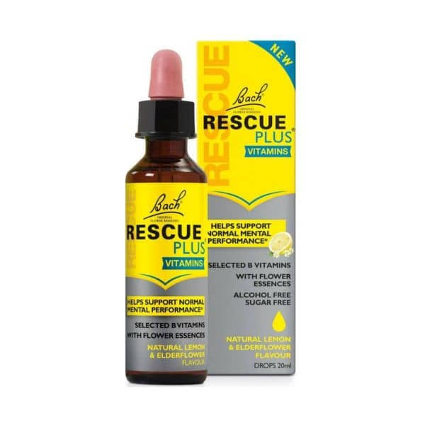 Bach Rescue Remedy Rescue Plus Dropper - 20ml