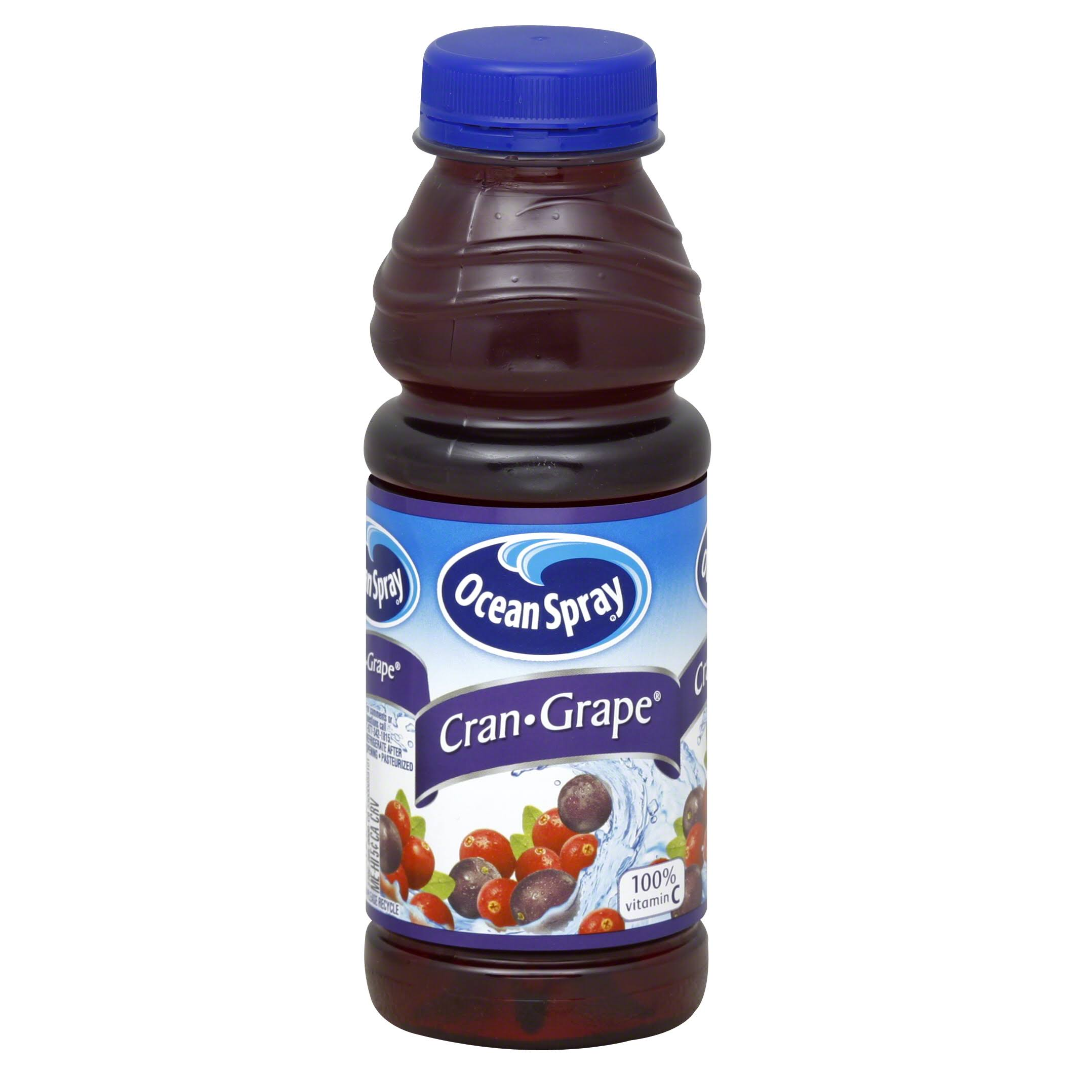 Ocean Spray Juice Cocktail, Cran-Grape - 15.2 fl oz