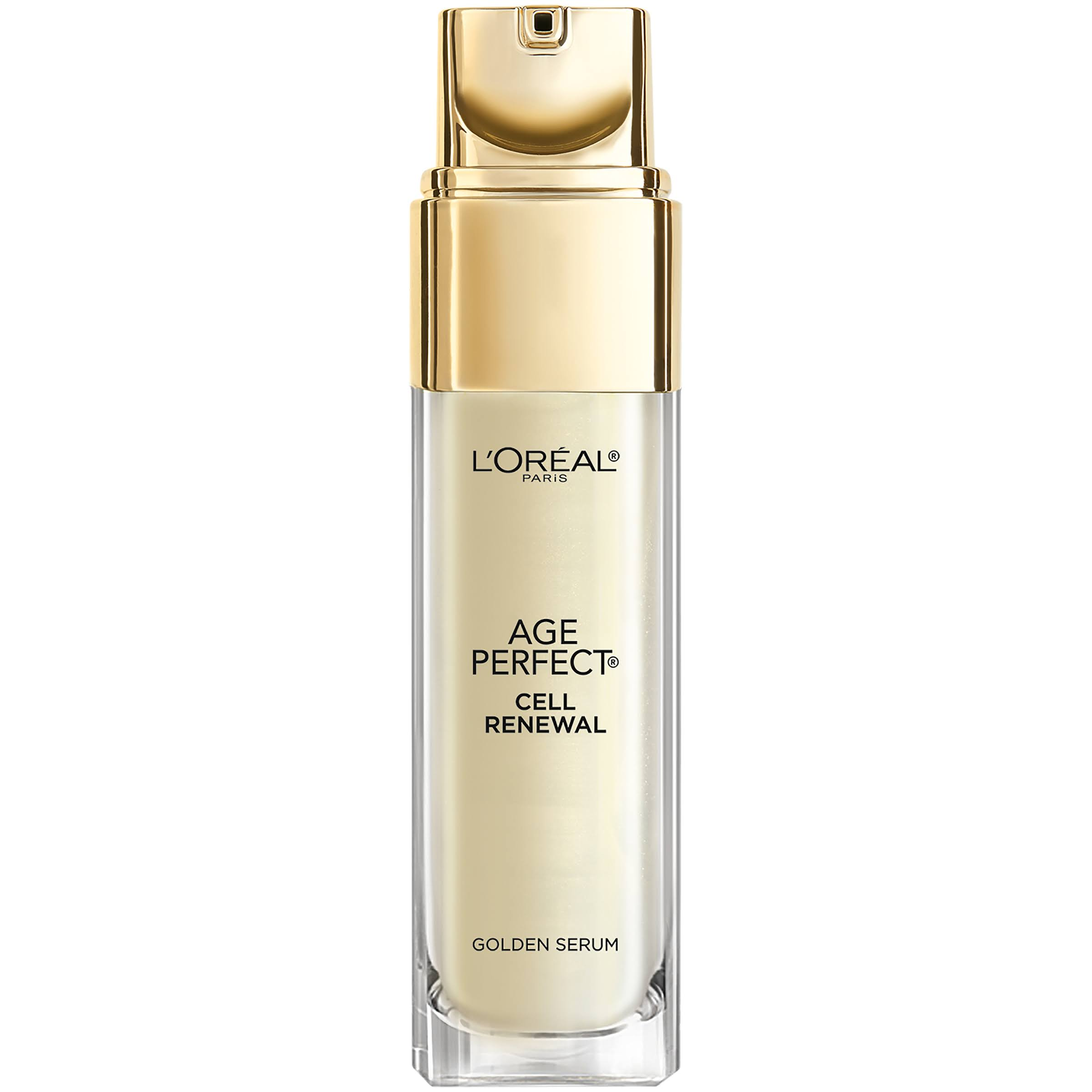 Loreal Paris Age Perfect Cell Renewal Golden Face Serum - 1oz