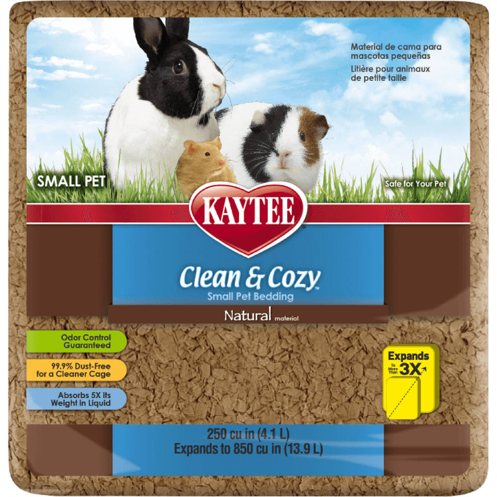Kaytee Clean and Cozy Small Pet Bedding - 500 Cubic Inch