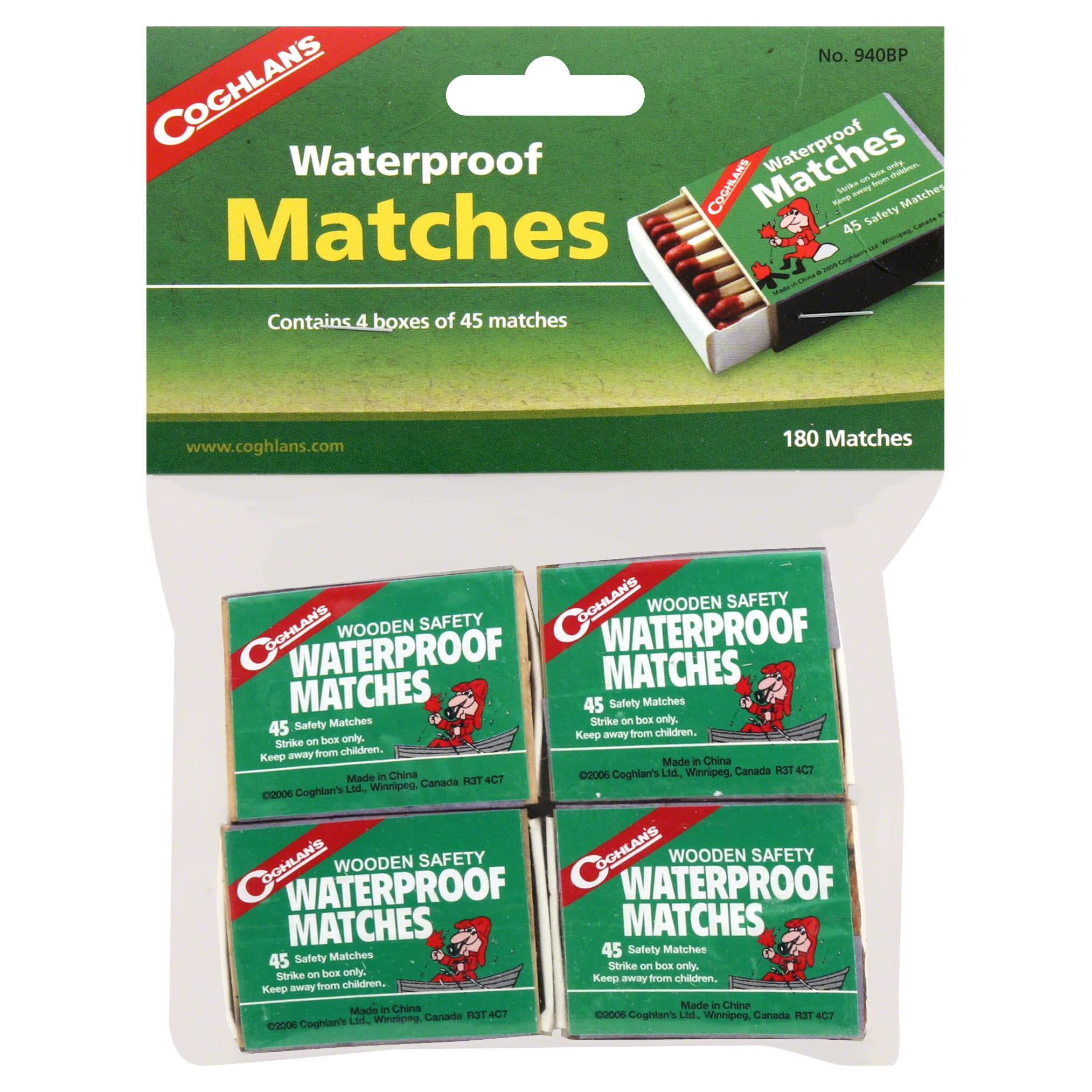 Coghlan's Waterproof Matches - x180