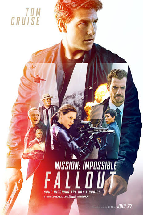 Mission Impossible Fallout 2018 DVDRip Full Movie HD Download 720p
