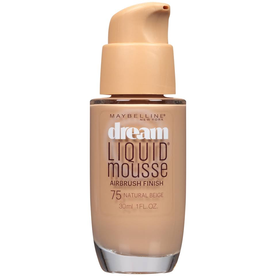 Maybelline New York Dream Satin Liquid Mousse Foundation - 75 Natural Beige
