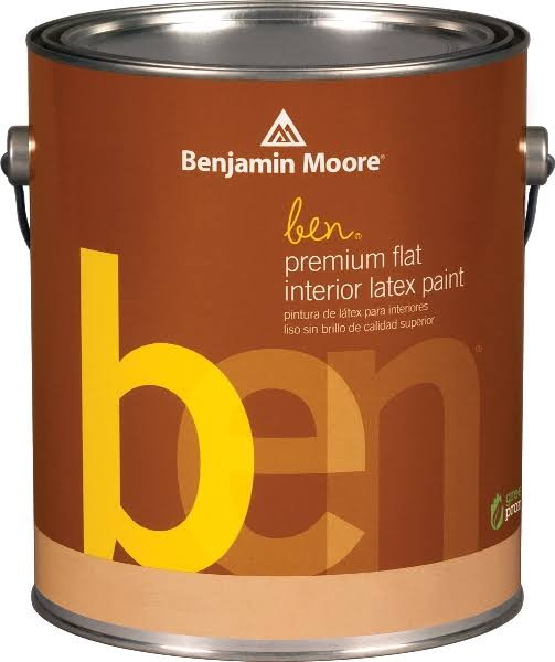 Benjamin Moore Benjamin Moore 1 Quart Ben Interior Flat Finish Latex Paint at Blain's Farm and Fleet