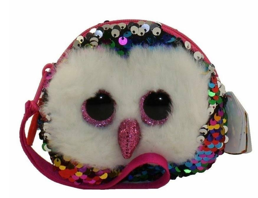 Ty Fashion Owen Owl Sequin Wristlet