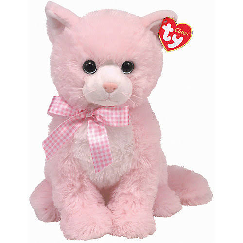 TY Classic Duchess Plush and Soft Toys - Pink Cat