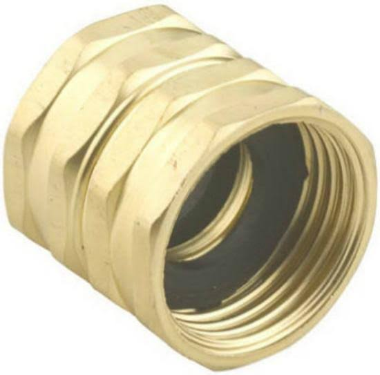 "Bosch Garden and Watering Green Thumb Hose to Hose Connector - Dark Khaki, 4"" x 3/4"""