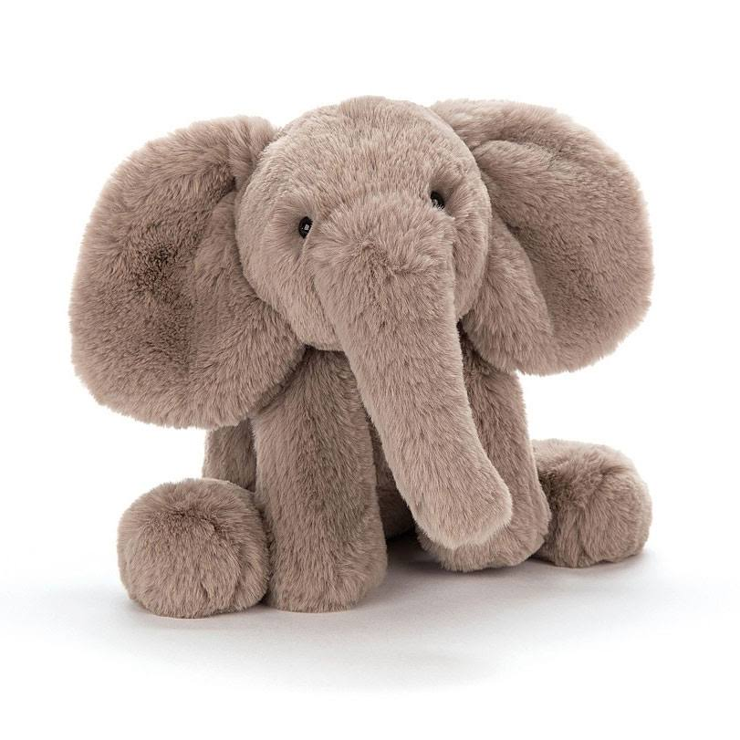Jellycat Smudge Elephant Stuffed Toy - 14""