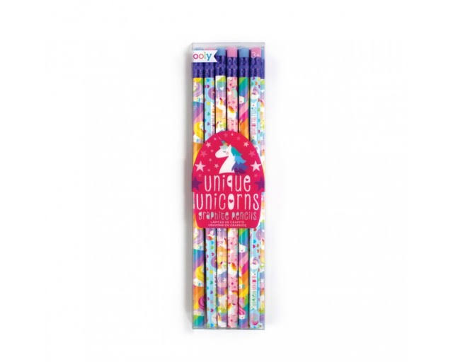 Ooly Graphite Pencils - Set of 12 - Unique Unicorns