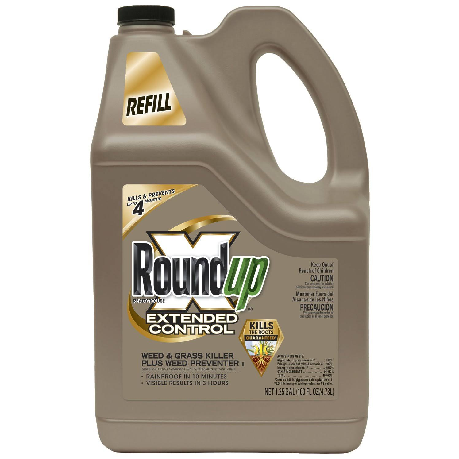 Roundup Extended Control Weed and Grass Killer - 160oz
