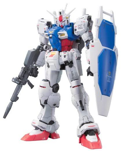 Bandai Hobby Real Grade 12 Gundam GP01 Zephyranthes Action Figure Model Kit - 1/144 Scale