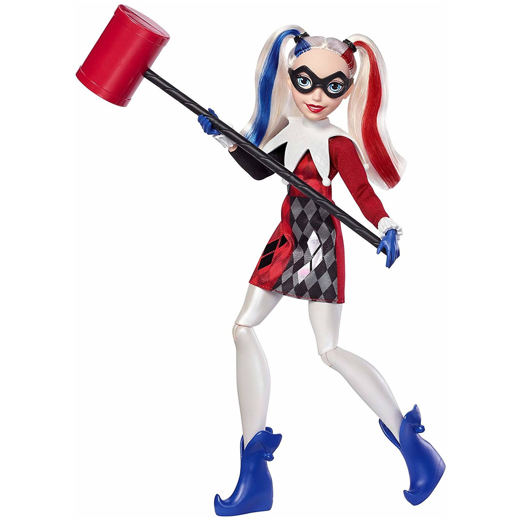 DC Super Hero Girls Comic Classics Harley Quinn Doll