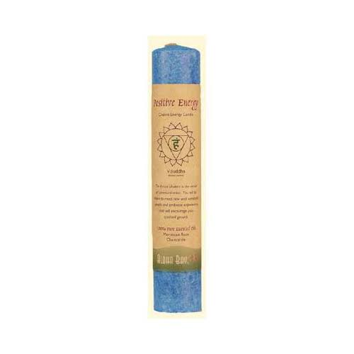 Aloha Bay Positive Energy Chakra Energy Candle - Blue