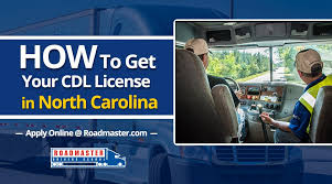 How To Get Your CDL In North Carolina - Roadmaster Drivers School
