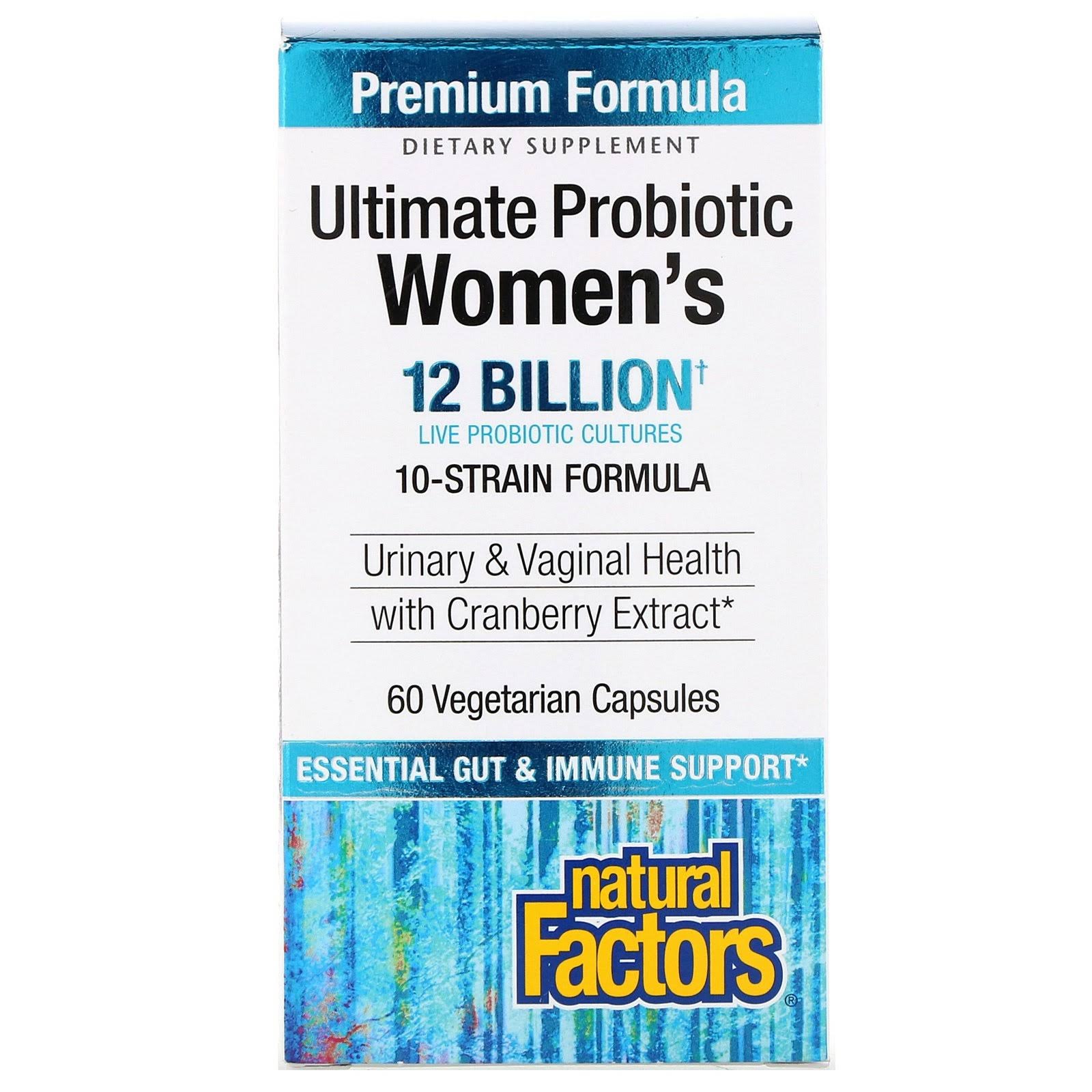 Natural Factors Ultimate Probiotic Women's Formula - 60 Capsules
