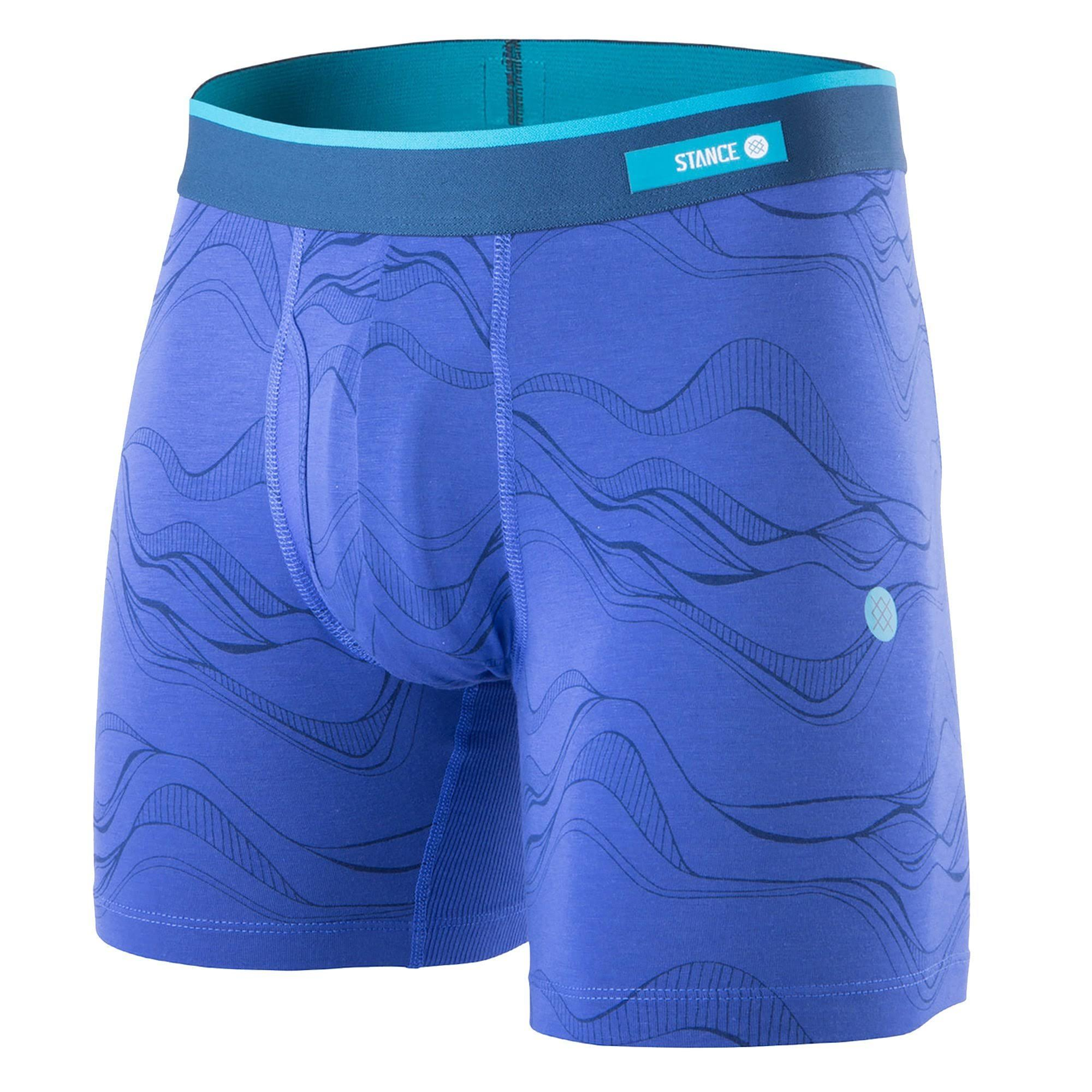Stance Underwear String Theory Boxer Brief, Blue / M
