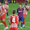 Barcelona vs. Atletico Madrid - Football Match Report - June 30 ...
