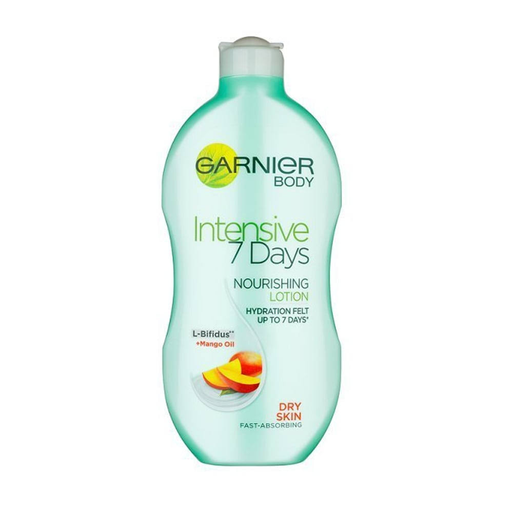 Garnier Intensive 7 Days Mango Body Lotion Dry Skin 400ml
