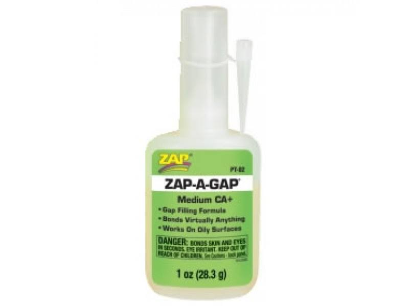 Zap-A-Gap Adhesives - 1oz