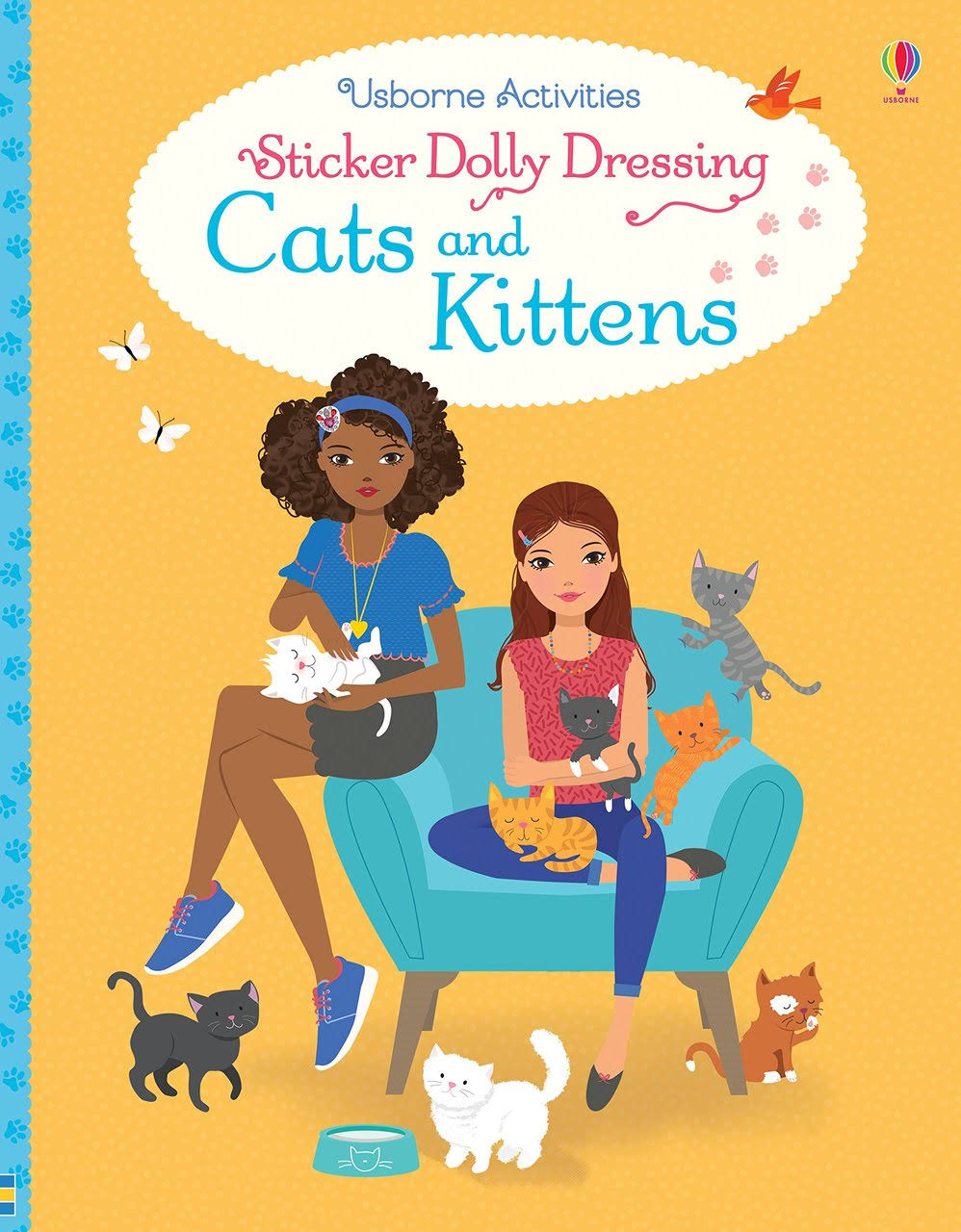Sticker Dolly Dressing Cats and Kittens [Book]