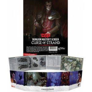 Gale Force 9 Dungeon & Dragons Dungeon Master's Screen Curse Of Strahd