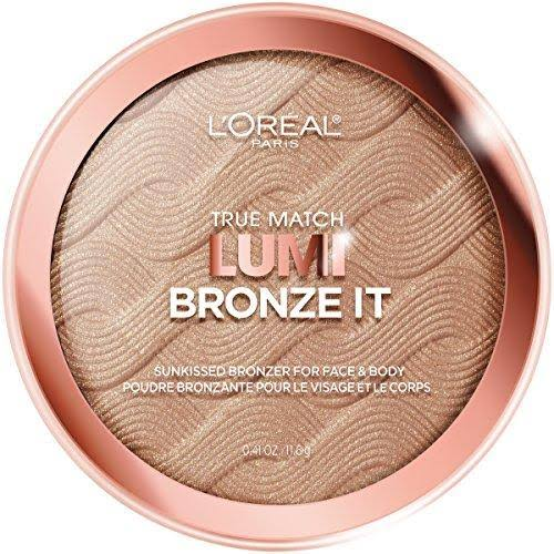 L'Oreal Paris True Match Lumi Bronze It Face Bronzer - Light, 11.6g