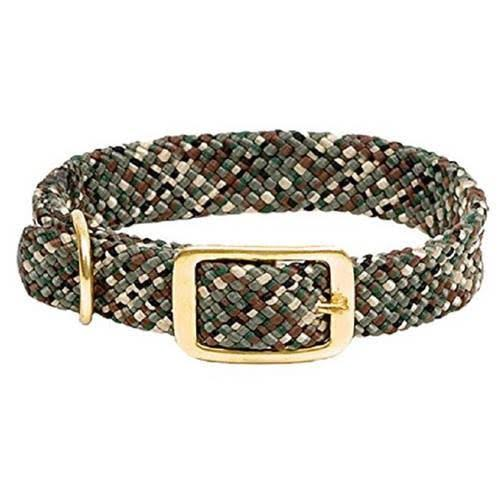 Mendota Products Double Braid Collar - Camo, X-Large