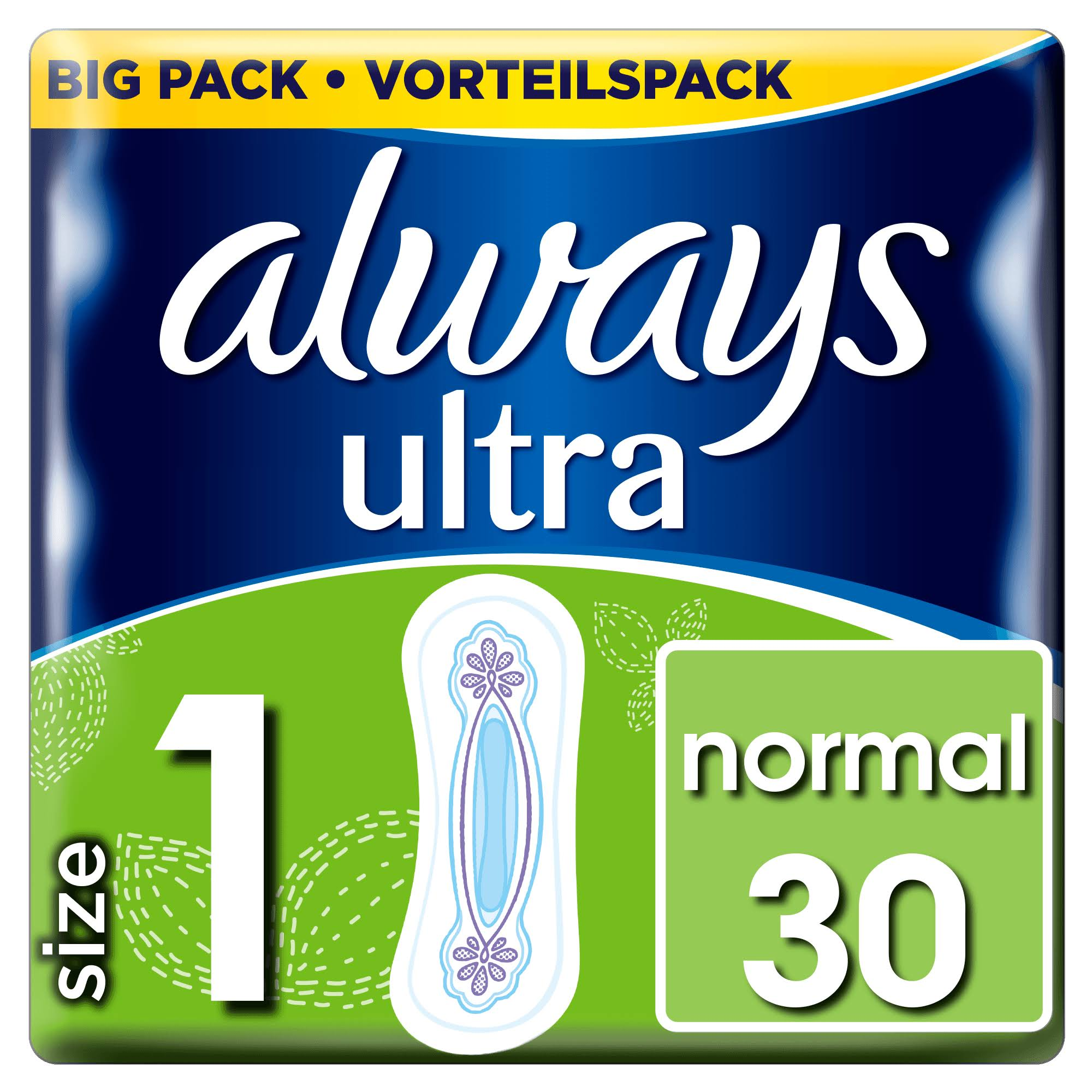 Always Ultra Sanitary Pad - Duo Normal