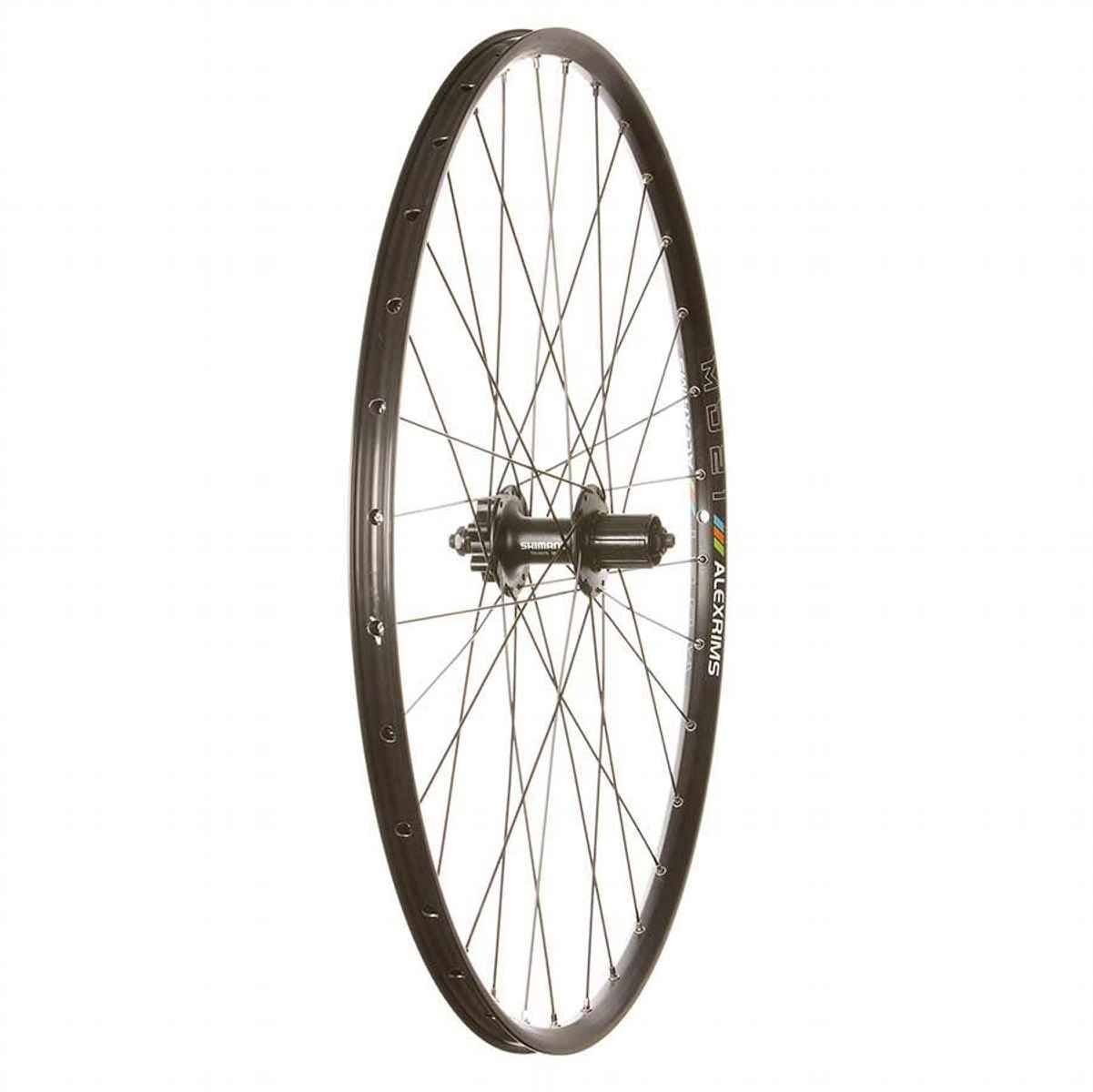 Wheel Shop Alex MD21/Shimano M475/DT Stainless 29 Wheel : Disc Is 6-Bolt 29 / 622 Rear - NW02