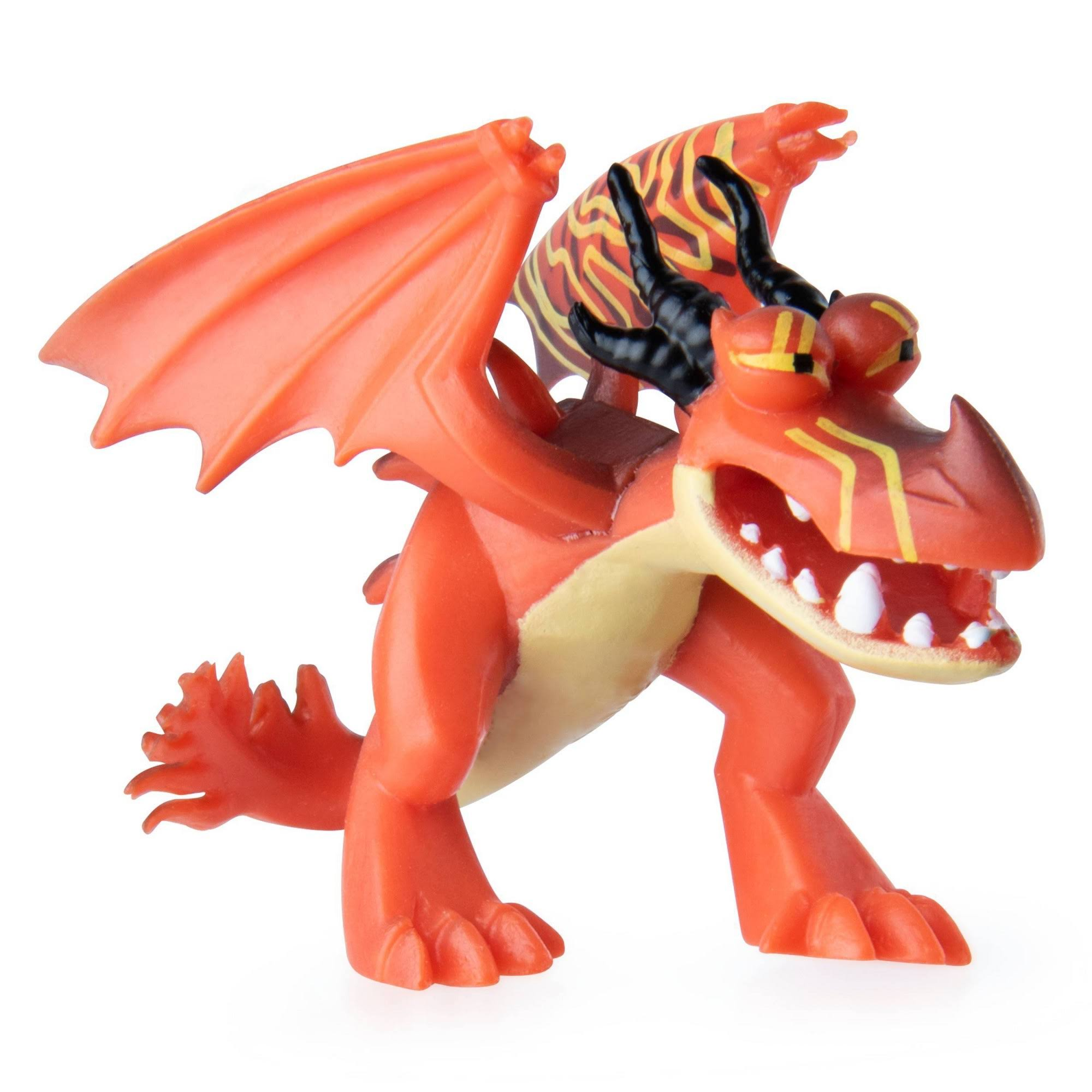 Dreamworks Dragons Mystery Dragons Hookfang Collectible Mini Dragon Figure