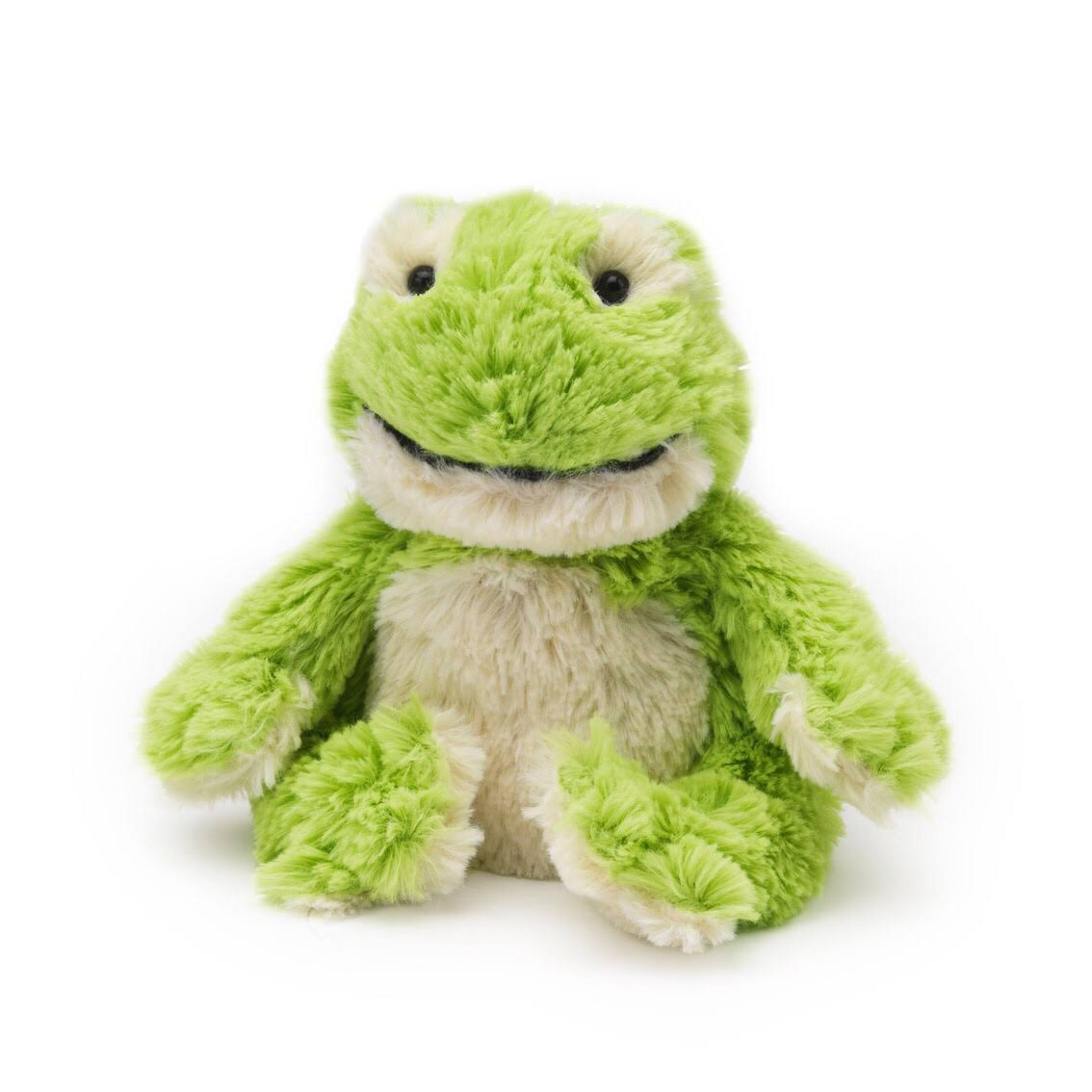 Intelex Cozy Plush Heatable Toy - Junior Frog
