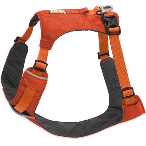 Ruffwear Lightweight Dog Harness - X-Small, Sockeye Red