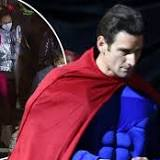 Superman is set to REUNITE with The Batman as costumed extras film scenes in locked-down Liverpool (but is all as it ...