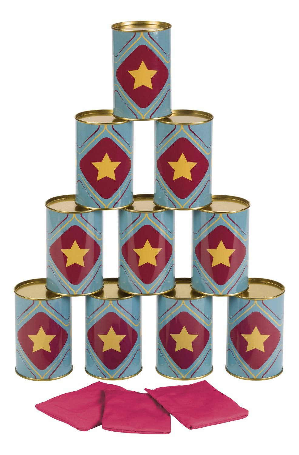 Toysmith Tin Can Topple Game