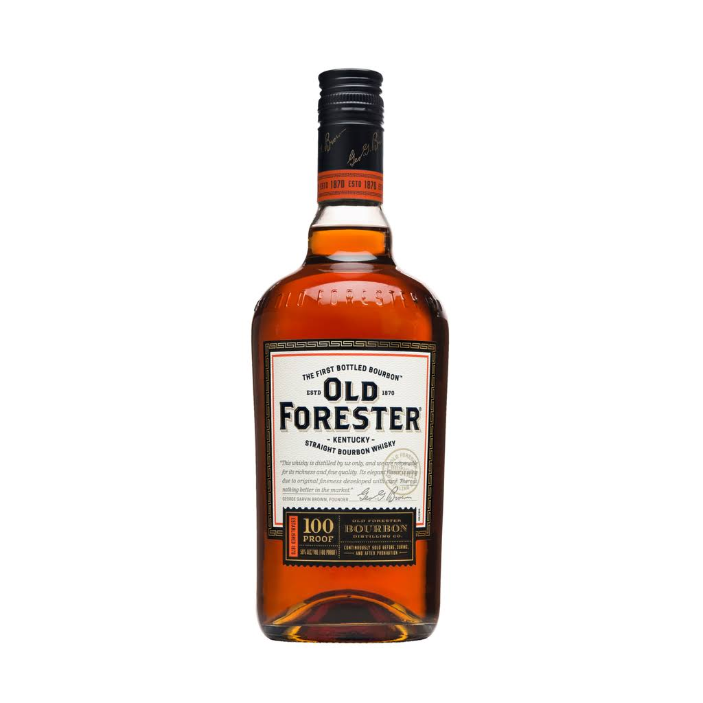 Old Forester 100 Proof Bourbon, Kentucky Straight Bourbon Whiskey - 750 ml