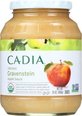 Cadia Organic Gravenstein Apple Sauce - 24 Ounces - Windmill Farms - Delivered by Mercato