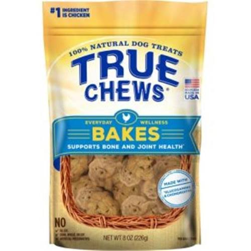 True Chews Everyday Wellness Bakes Supports Bone and Joint Health Dog Treats - 8oz