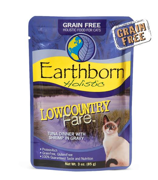Earthborn Lowcountry Fare Cat Food Pouch 3 Ounces