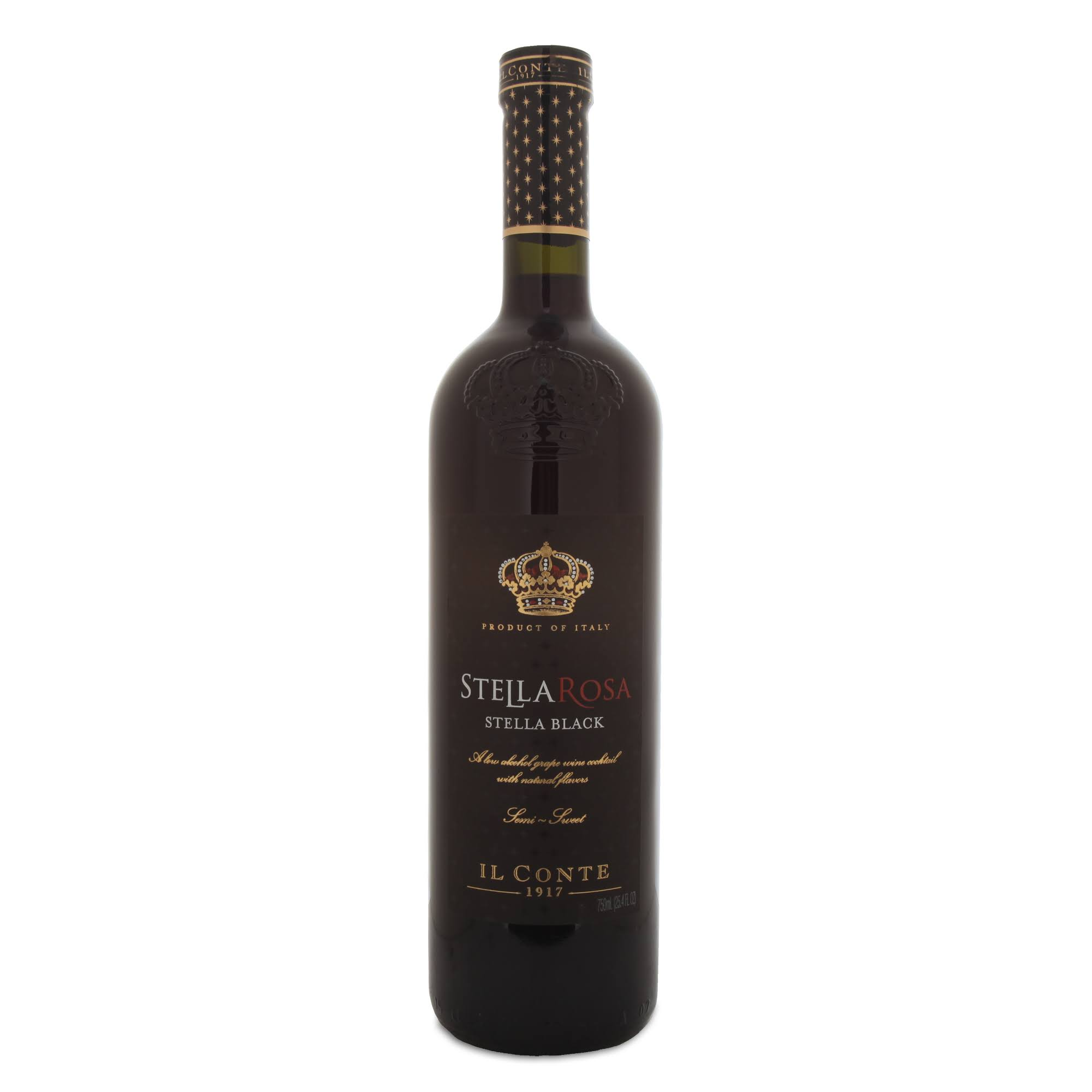 Il Conte Stella Rosa Stella Black Red Wine