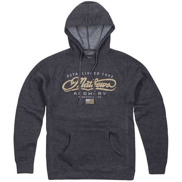 Mathews Authentic Hoodie - Grey
