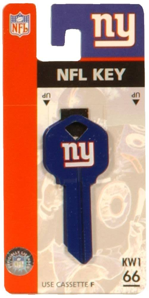 The Hillman Group 66 New York Giants House Key Blank
