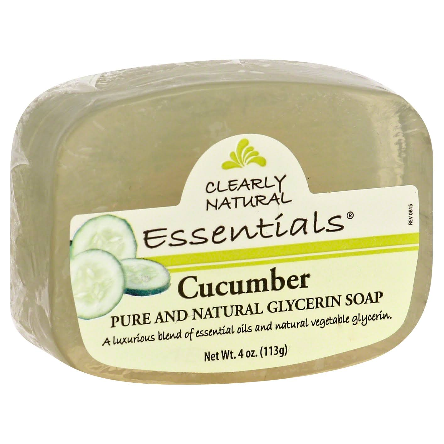 Clearly Natural Essentials Soap - Cucumber