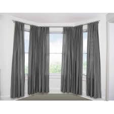 No Drill Window Curtain Rod by Bay Window Curtain Rod Set 5 8