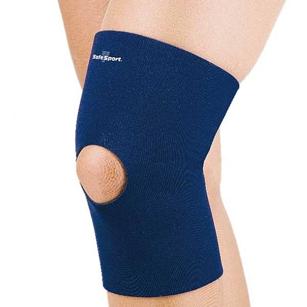 FLA Orthopedics Standard Neoprene Knee Sleeve with Closed Patella, M