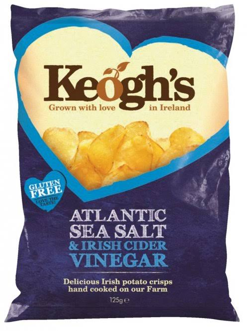 Keogh's Irish Atlantic Sea Salt Chips - 125g