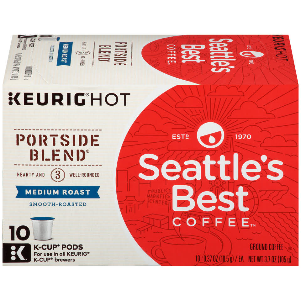 Seattle's Best Coffee Signature Blend Keurig K Cup Pods Pack - 10pk