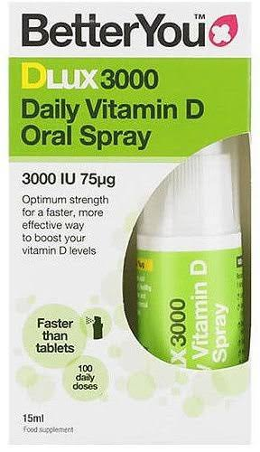 BetterYou DLux3000 Vitamin D Oral Spray 15ml