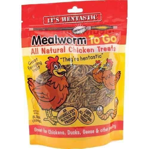 Unipet USA Hentastic Mealworm To Go Chicken Treats - 3.5oz