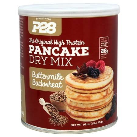 P28 The Original High Protein Pancake Dry Mix - Buttermilk Buckwheat